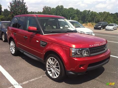 red land rover 2010 rimini red land rover range rover sport hse 84518600