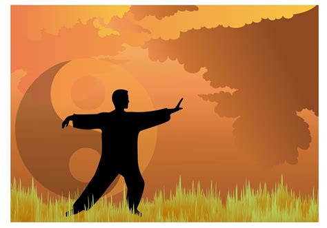 Tai Chi Vector - Download Free Vector Art, Stock Graphics ...