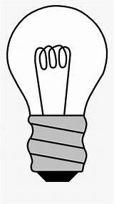 Bulb Coloring Drawn Clip Clipartkey sketch template