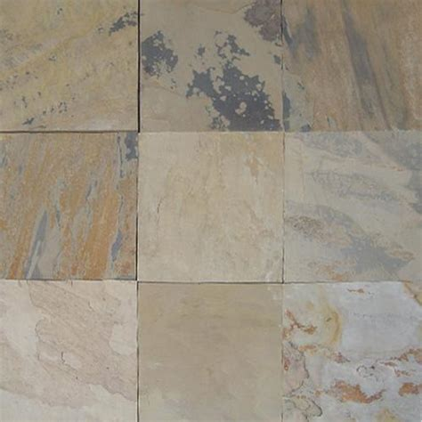 Indian Autumn Gauged Slate Tile ? Sognare Tile, Stone