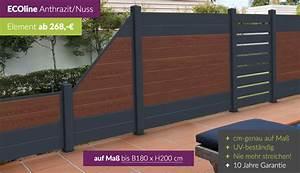 Sichtzäune Aus Holz : dichtzaun kunststoff hier ab werk kaufen ~ Watch28wear.com Haus und Dekorationen