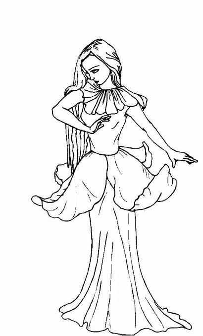 Coloring Pages Fairy Printable Teenagers Fairies Adults