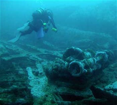 Rms Lusitania Model Sinking by Blueflash Grant S Wreck Diving Bit