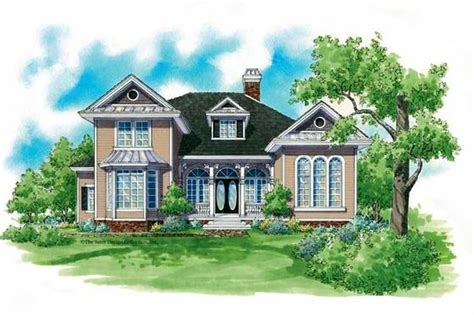Victorian Style House Plan 3 Beds 2 5 Baths 2755 Sq/Ft