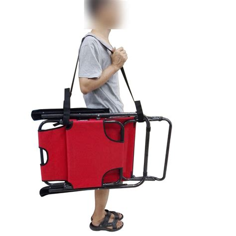 chair shoulder carry folding chair