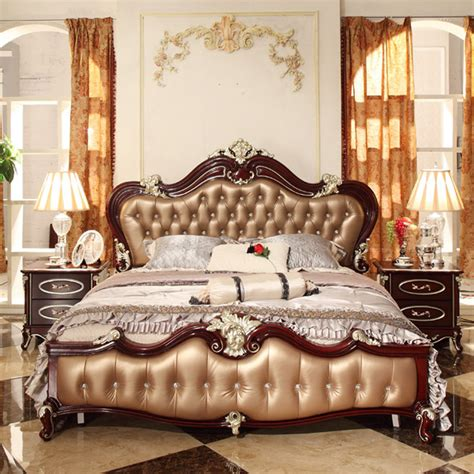european style bed 1 8 m bed retro classic