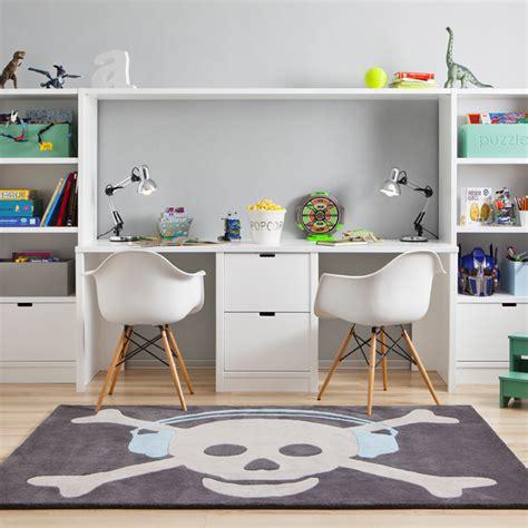bureau pour deux enfants chambre d 39 enfant sélection de rangement spécial petits