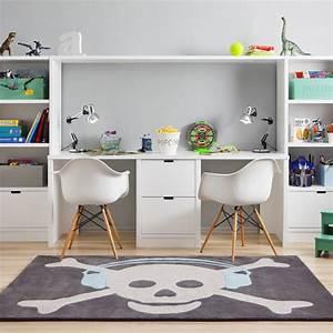 Chambre Enfant 2 Ans : chambre d 39 enfant s lection de rangement sp cial petits espaces bureaux modulaires pour 2 ~ Teatrodelosmanantiales.com Idées de Décoration