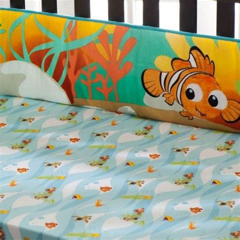 if i wasn t already doing neverland this would be awesome finding nemo crib set neverland