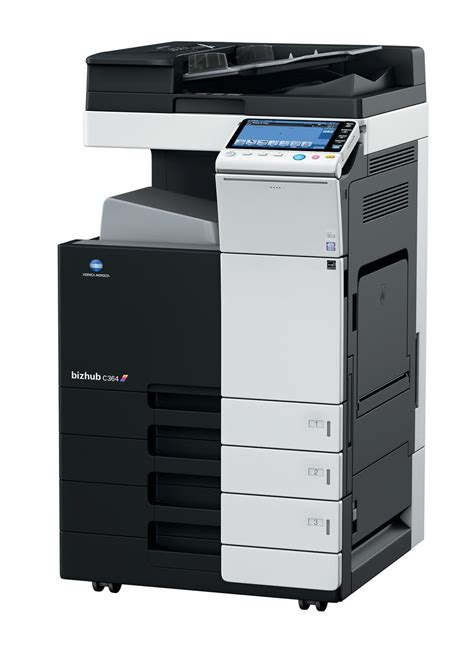 Hides multifunction and faxes, scanners, imported from artificial countries. Konica Minolta Bizhub C364 - Copiers Direct