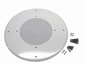 12 U0026quot  Ceiling Or Wall Metal Speaker Grill  Flush Mount