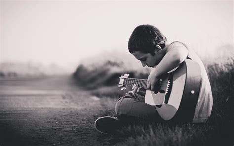 Animated Lonely Boy Wallpapers - boy with guitar hd wallpaper gallery