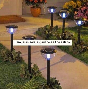 everblue lamparas estaca solar  jardin  usan