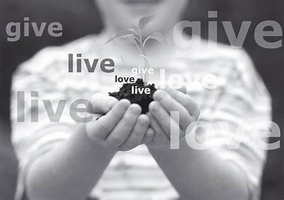 Give Giving Abundantly Heart Help Rich Word
