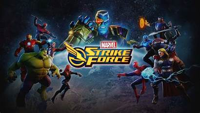 Force Strike Wallpapers Heroes Marvel Android