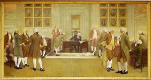 The Signing of the American Constitution by Albert Herter ...