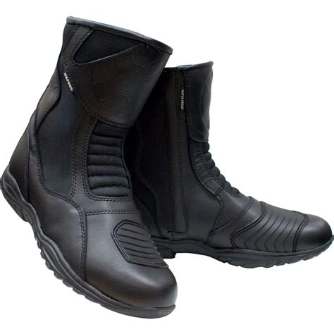waterproof motorcycle touring boots oxford cheyenne short ankle waterproof motorcycle bike