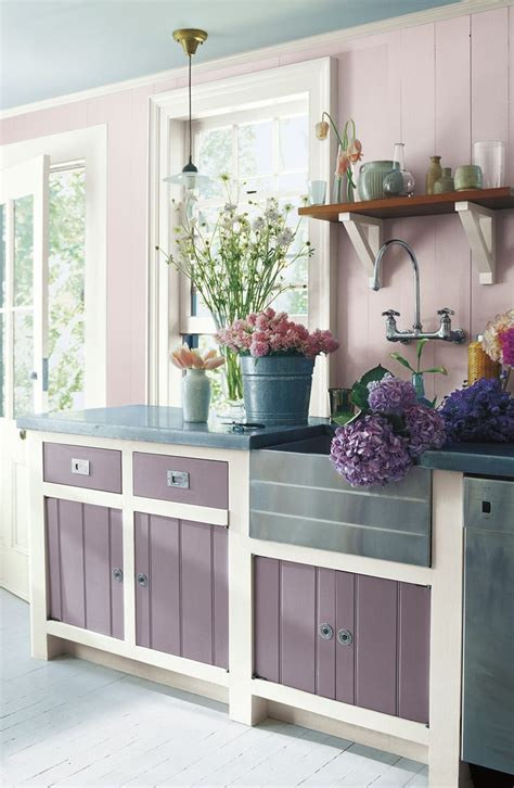 lilac kitchen accessories a farmhouse kitchen with ralph paint colors 3794