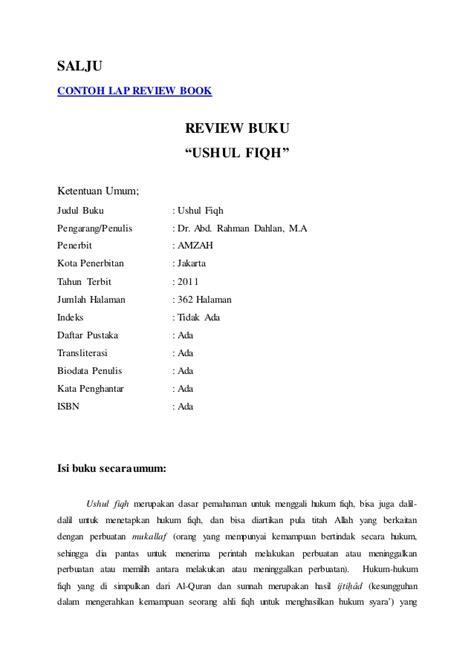 contoh resume buku novel salju contoh lap review book