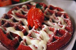 Red Velvet Waffles | Recipe