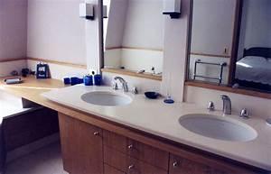 Credence Lavabo Salle De Bain : salles de bain en marbre pierre et granit page 2 3 r alisations marbrerie de vitry ~ Dode.kayakingforconservation.com Idées de Décoration