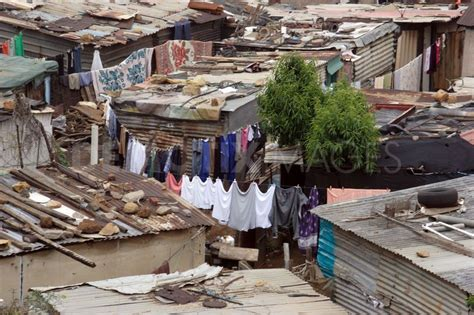 Daily Life In South African Township Khayelitsha Africa