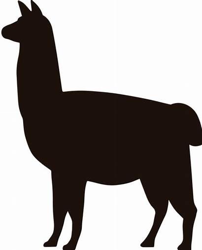 Llama Clipart Sticker Alpaca Silhouette Phone Huawei