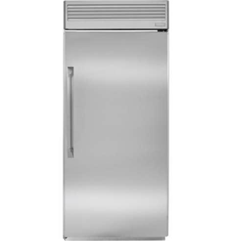 zirpnhrh monogram  professional built   refrigerator  hinge stainless steel