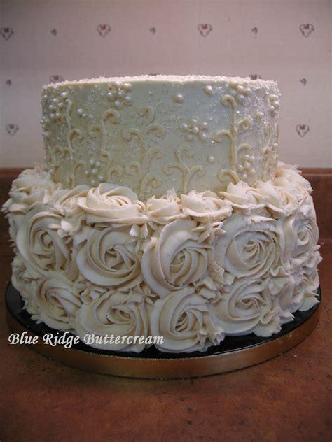 buttercream wedding cake blue ridge buttercream