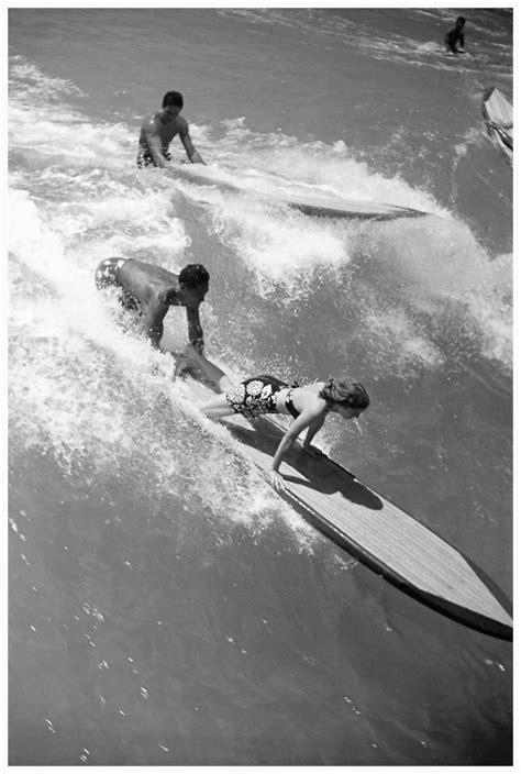 vintage surfer girls images  pinterest vintage