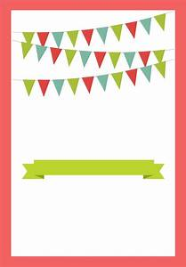 blank-Party Invite Templates