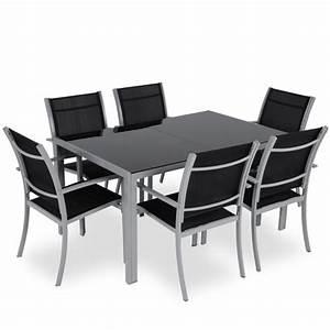 Ensemble Table De Jardin : ensemble table et chaise de jardin salon jardin leclerc reference maison ~ Teatrodelosmanantiales.com Idées de Décoration