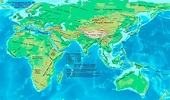 The Eastern Hemisphere (Europe, Asia, Africa, and ...