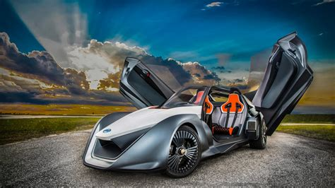 For Electric Cars by Wallpaper Nissan Bladeglider Supercar Electric Cars