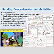 Reading Comprehension, Textsentenceword Work  Presentations, Lessons 15, Worksheets By Ro