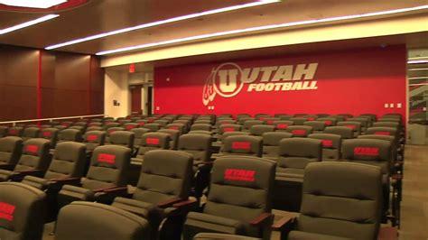 utah football player facility  youtube