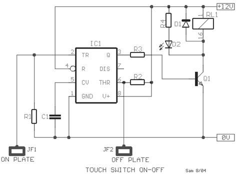 Off Touch Switch Circuit