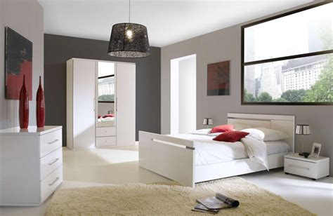 meuble chambre blanc awesome modele de chambre a coucher blanche gallery