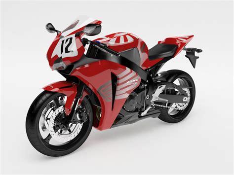 honda cbr bike models honda cbr 1000 rr 08 custom 3d model cgtrader