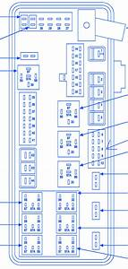 Dodge Sxt Magnum 2009 Distribution Fuse Box  Block Circuit Breaker Diagram