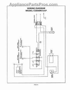 Parts For Thermador Cgb30rculp  Wiring Diagram Parts