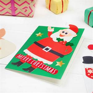 Make Your Own Christmas Card Kit By Postbox Party