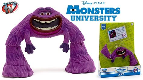 monsters university disney store art action figure toy