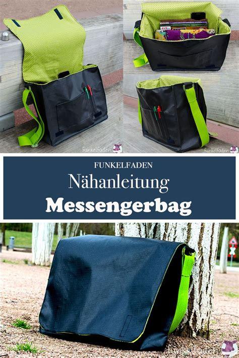 Die meisten der folgenden schnittmuster zum download sind in verbindung mit dem. Gratis Nähanleitung Messenger Bag nähen - Kostenloses ...