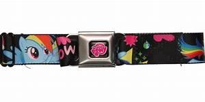 My Little Pony I Love Rainbow Dash Seatbelt Mesh Belt