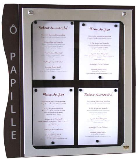 porte menu lumineux exterieur porte menu porte menus lumineux pour restaurant sur pied et muraux affichage menus pour