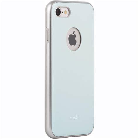 moshi iphone moshi iglaze for iphone 7 teal 99mo088521 b h photo