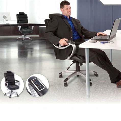 fauteuil bureau massant fauteuil de bureau chauffant et massant vilacosy