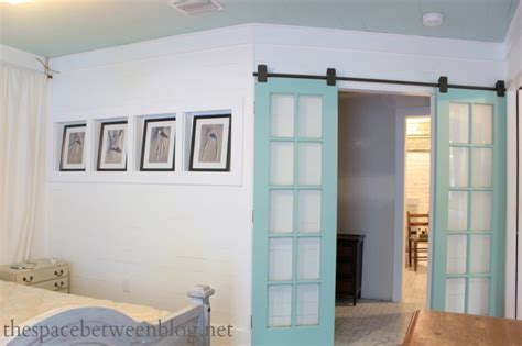 upcycling idea ? reclaimed french doors on rolling door