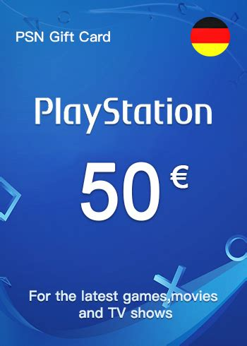 Buy one for yourself or as a gift card for someone else! Buy PSN Gift Card 50 Euro Germany - mmorc.com